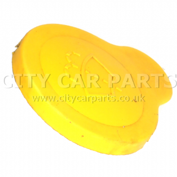 GENUINE MICRA K11E ALMERA N16 ALMERA TINO WATER WASHER BOTTLE CAP YELLOW 60MM